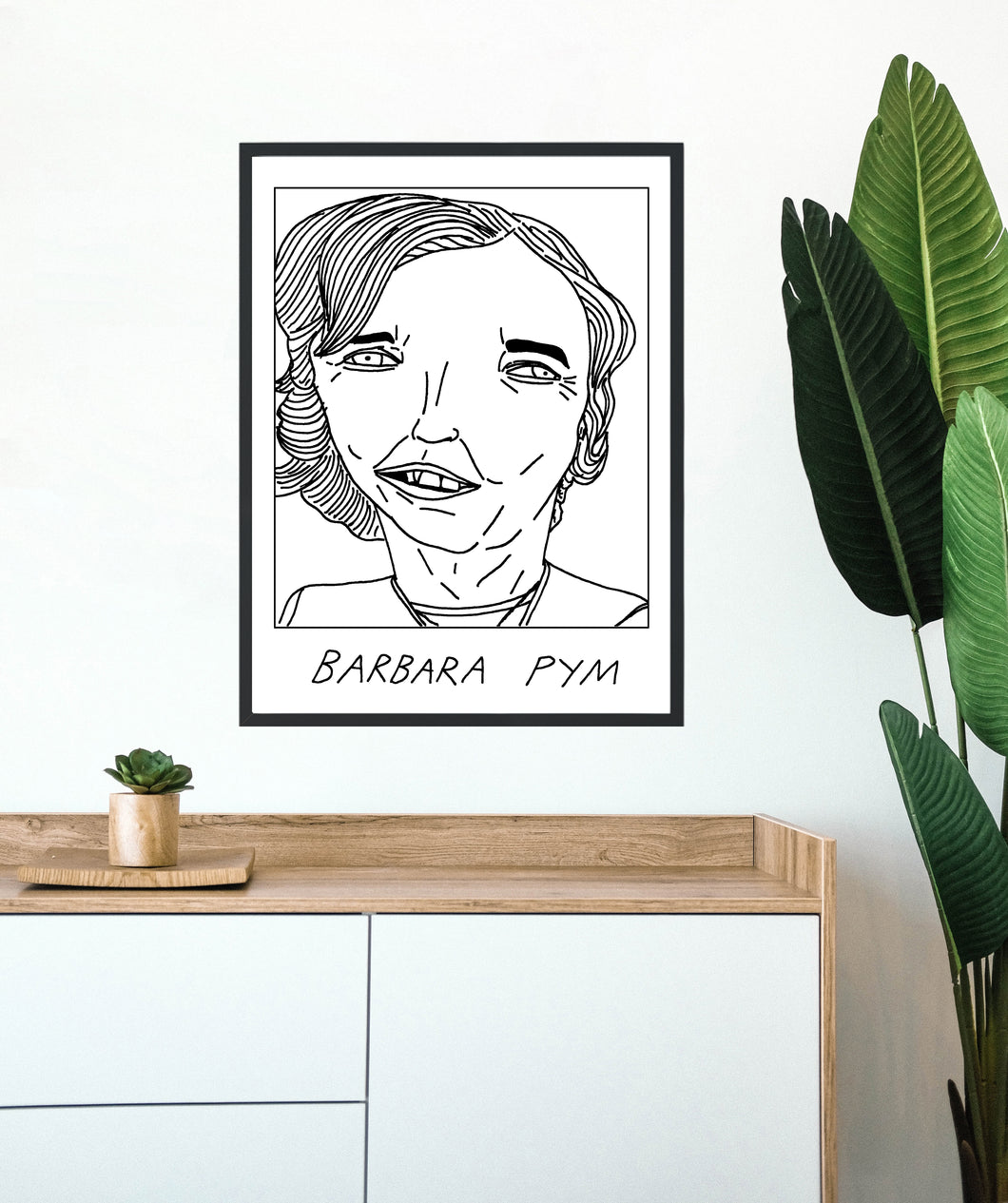 Badly Drawn Barbara Pym - Poster - BUY 2 GET 3RD FREE ON ALL PRINTS