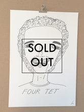 SOLD OUT - Badly Drawn Four Tet - Original Drawing - A3