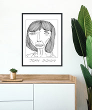Badly Drawn Joan Didion - Poster - BUY 2 GET 3RD FREE ON ALL PRINTS