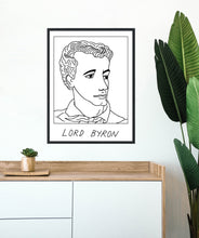 Badly Drawn Lord Byron - Poster - BUY 2 GET 3RD FREE ON ALL PRINTS
