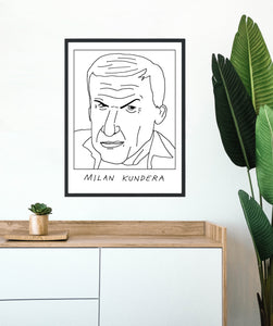 Badly Drawn Milan Kundra - Poster - BUY 2 GET 3RD FREE ON ALL PRINTS