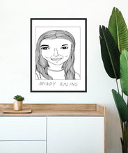 Badly Drawn Celebs - Mindy Kaling - Poster - BUY 2 GET 3RD FREE ON ALL PRINTS