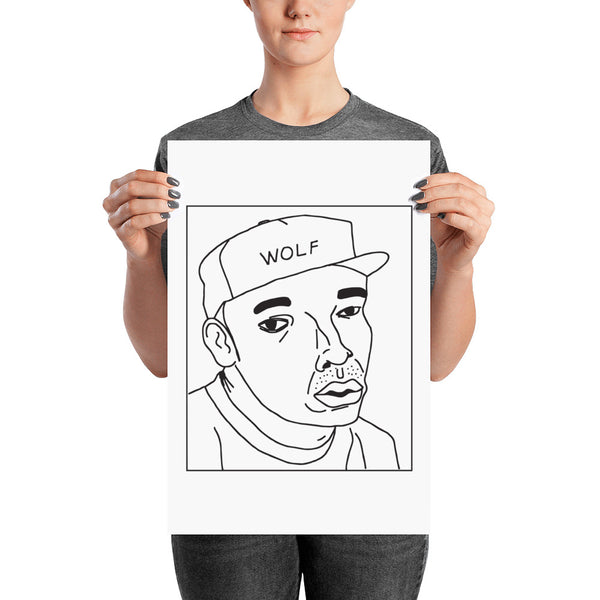 Badly Drawn Tyler, The Creator - Poster