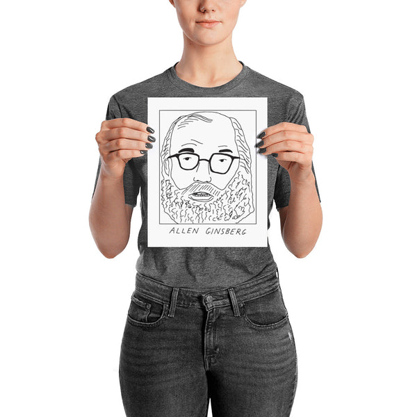 Badly Drawn Allen Ginsberg - Poster