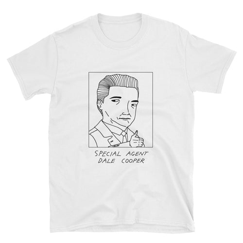 Badly Drawn Dale Cooper - Twin Peaks - Unisex T-Shirt