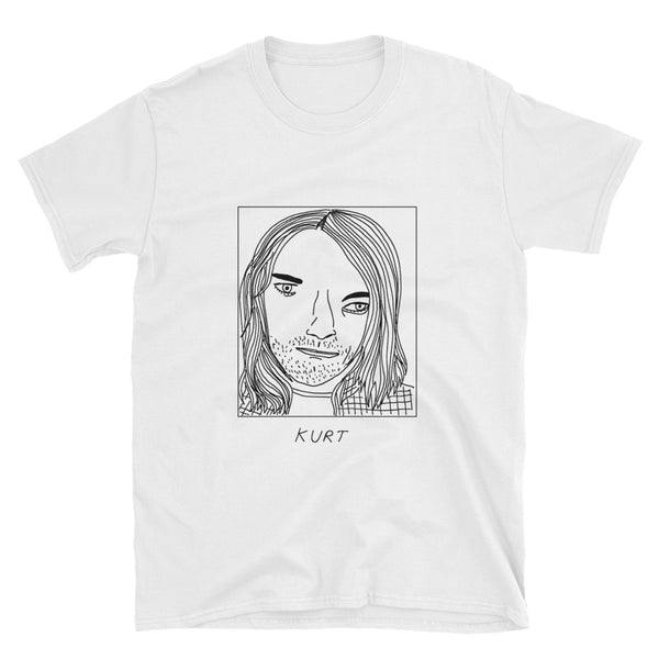 Badly Drawn Kurt Cobain - Unisex T-Shirt