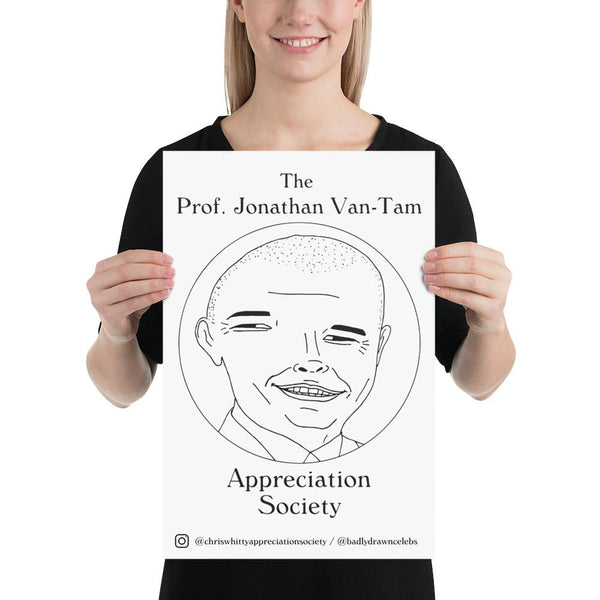 FREE - Professor Jonathan Van-Tam Appreciation Society - Poster - Digital Download (jpeg)