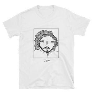 Badly Drawn Jon Snow - Game of Thrones - Unisex T-Shirt