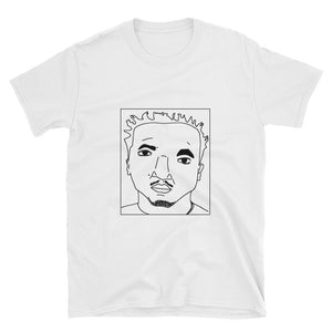Badly Drawn Q-Tip - A Tribe Called Quest - Unisex T-Shirt