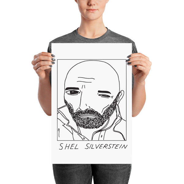Badly Drawn Shel Silverstein - Poster
