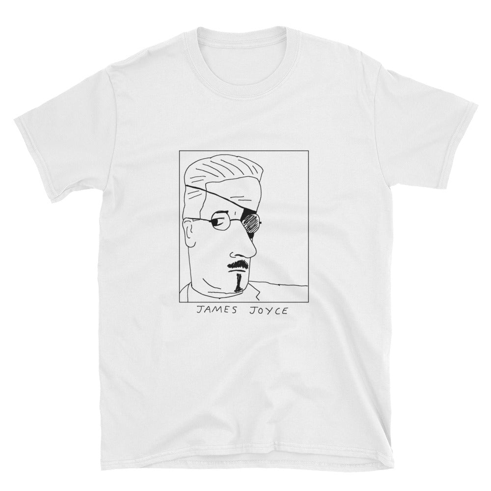 Badly Drawn James Joyce - Unisex T-Shirt