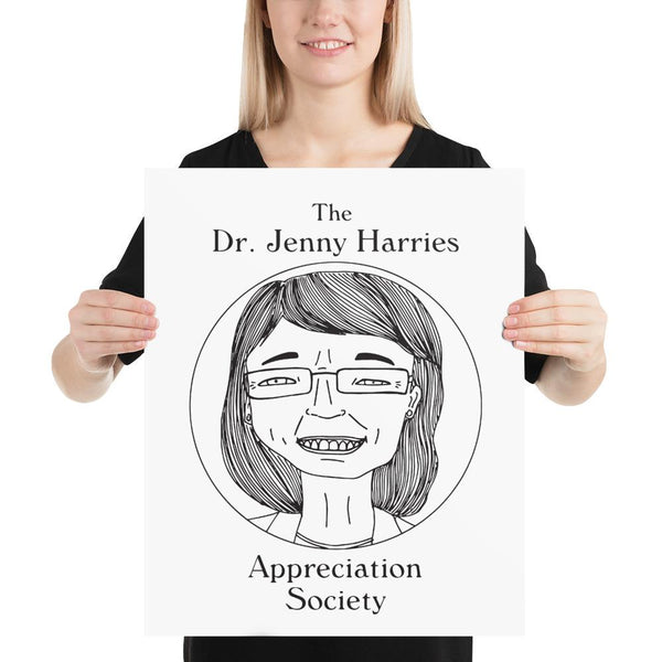 FREE - Dr. Jenny Harries Appreciation Society - Poster - Digital Download (jpeg)