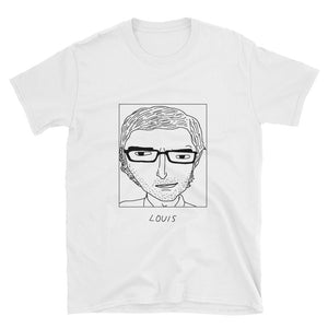 Badly Drawn Louis Theroux - Unisex T-Shirt