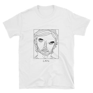 Badly Drawn Greg Sestero -The Room - Unisex T-Shirt