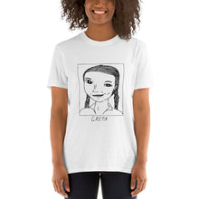 Badly Drawn Greta Thunberg -  Unisex T-Shirt