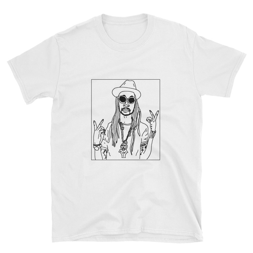 Badly Drawn 2 Chainz - Unisex T-Shirt