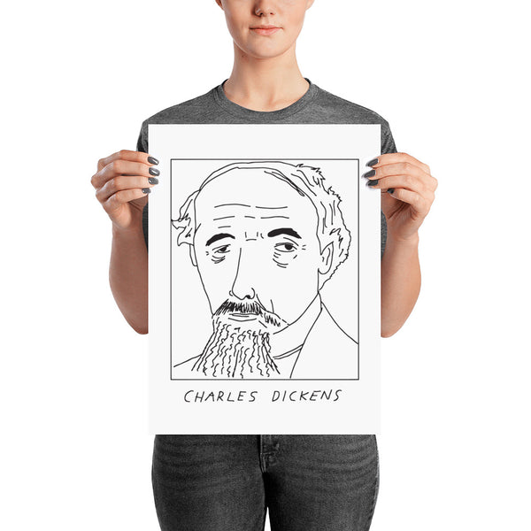 Badly Drawn Charles Dickens - Poster