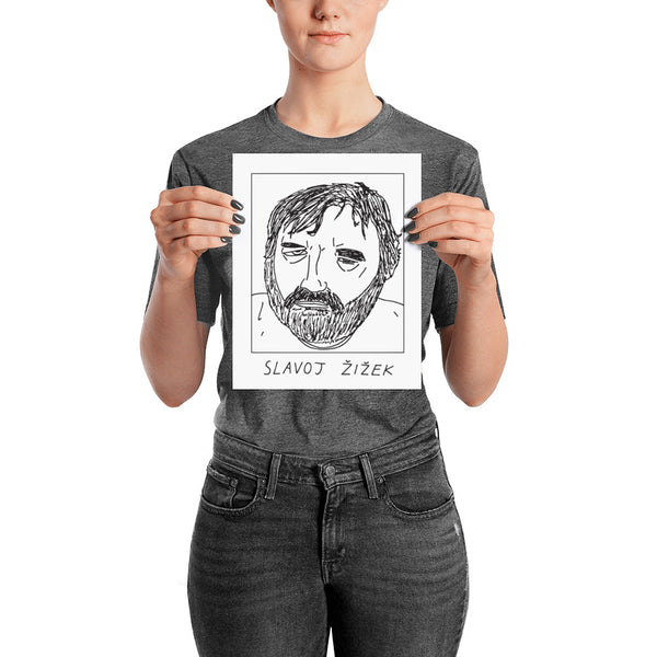 Badly Drawn Slavoj Zizek - Poster