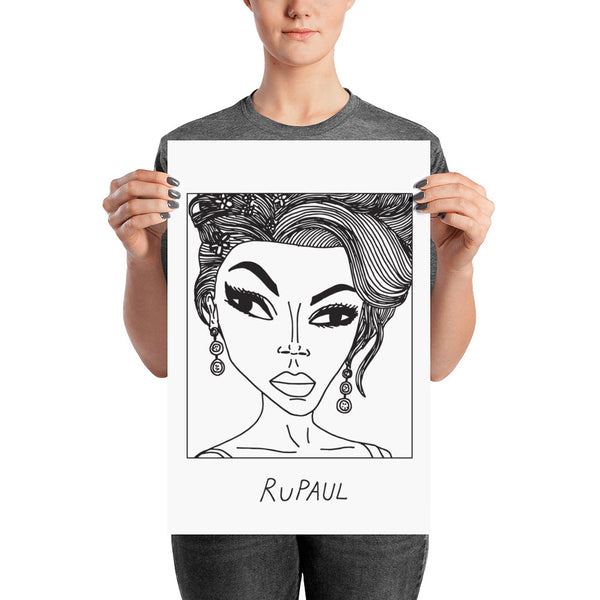 Badly Drawn RuPaul - Poster