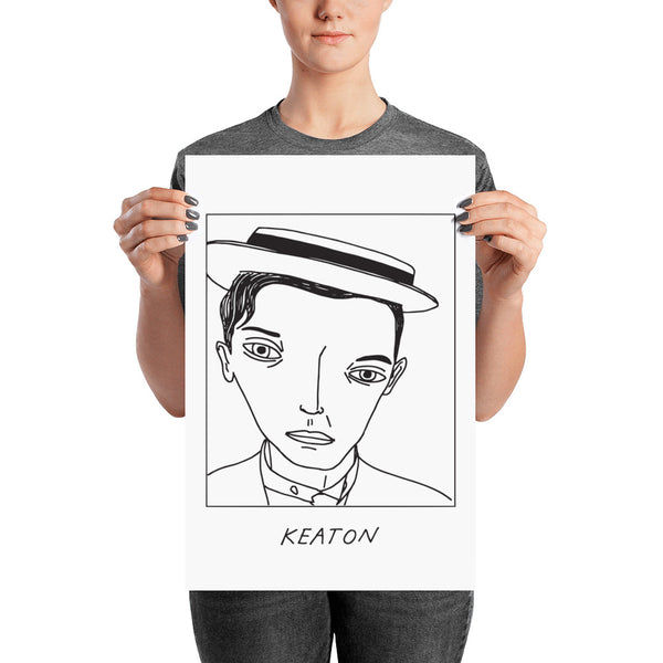 Badly Drawn Buster Keaton - Poster