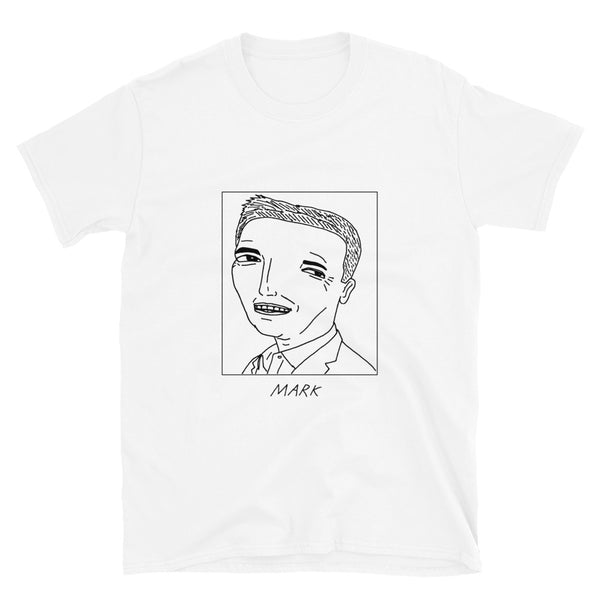 Badly Drawn Mark Cuban - Unisex T-Shirt