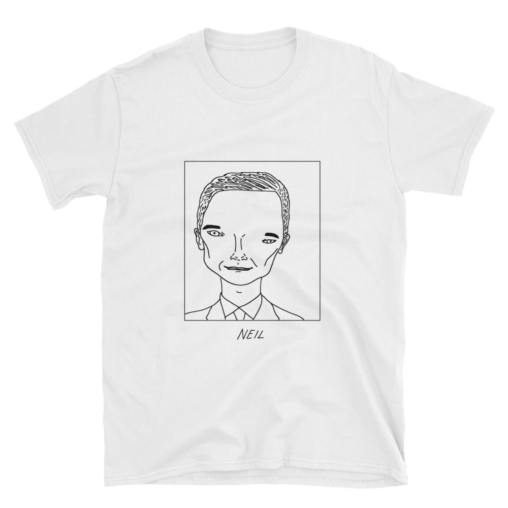 Badly Drawn Neil Patrick Harris - Unisex T-Shirt