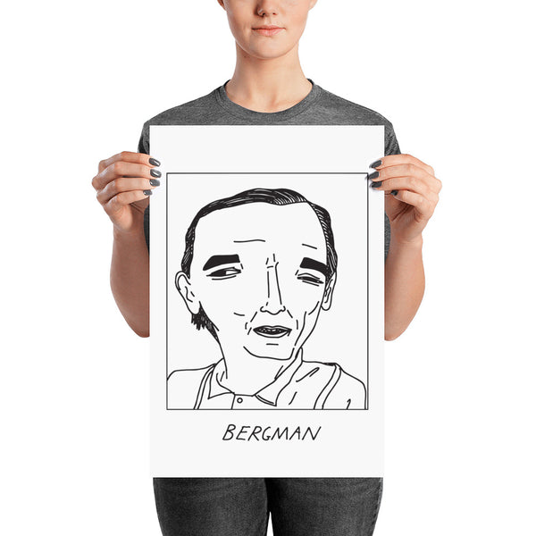 Badly Drawn Ingmar Bergman - Poster