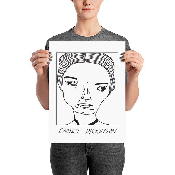 Badly Drawn Emily Dickinson - Poster