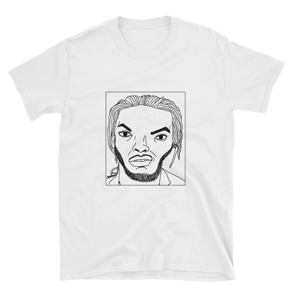 Badly Drawn Waka Flocka Flame - Unisex T-Shirt