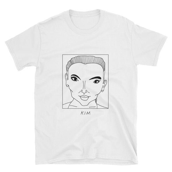 Badly Drawn Kim Kardashian - Unisex T-Shirt