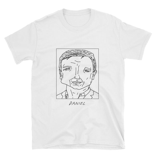 Badly Drawn Daniel Craig - Unisex T-Shirt