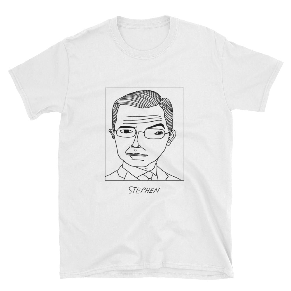 Badly Drawn Stephen Colbert - Unisex T-Shirt