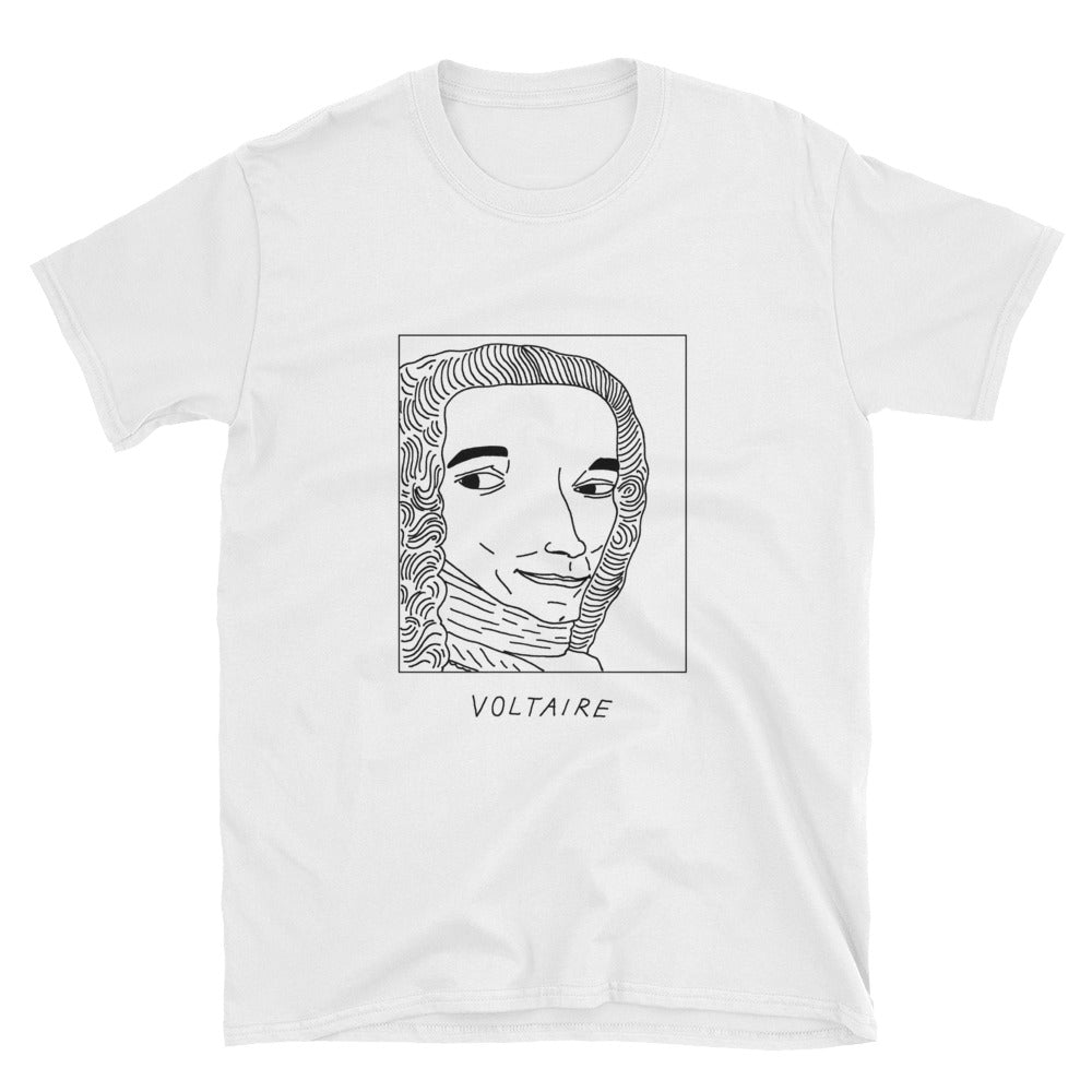 Badly Drawn Voltaire - Unisex T-Shirt