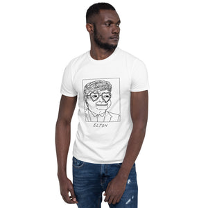 Badly Drawn Elton John - Unisex T-Shirt