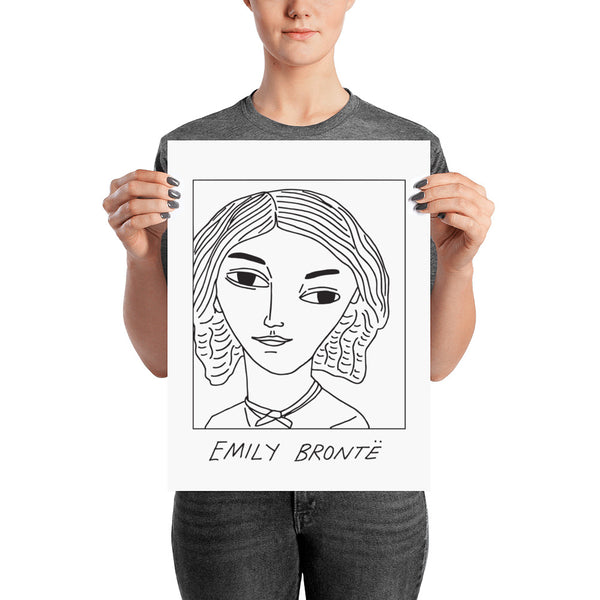 Badly Drawn Emily Bronte - Poster