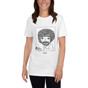 Badly Drawn Bob Ross - Unisex T-Shirt