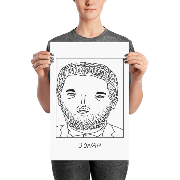 Badly Drawn Jonah Hill - Poster