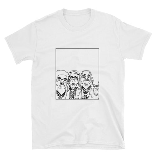 Badly Drawn Migos - Unisex T-Shirt