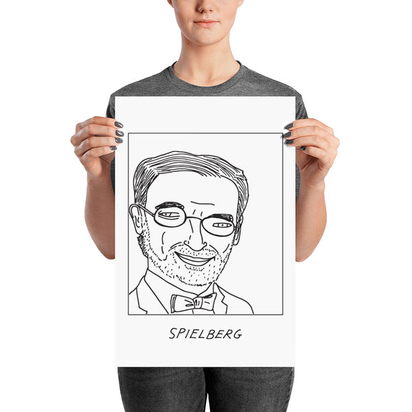 Badly Drawn Steven Spielberg - Poster
