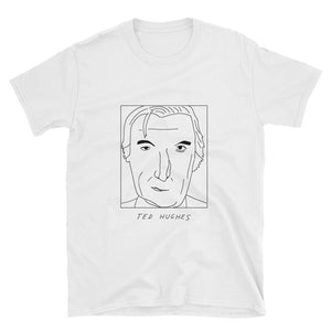 Badly Drawn Ted Hughes - Unisex T-Shirt
