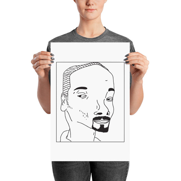 Badly Drawn Snoop Dogg - Poster