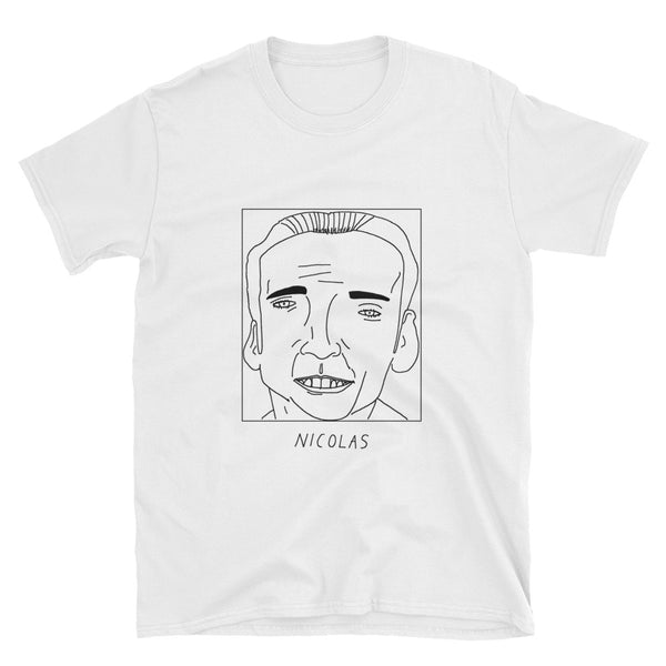 Badly Drawn Nicolas Cage - Unisex T-Shirt