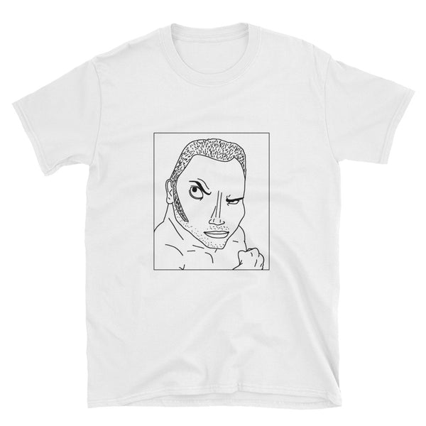 Badly Drawn The Rock - WWE - Unisex T-Shirt