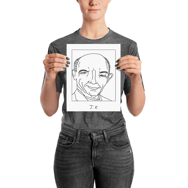 Badly Drawn J. K. Simmons - Poster