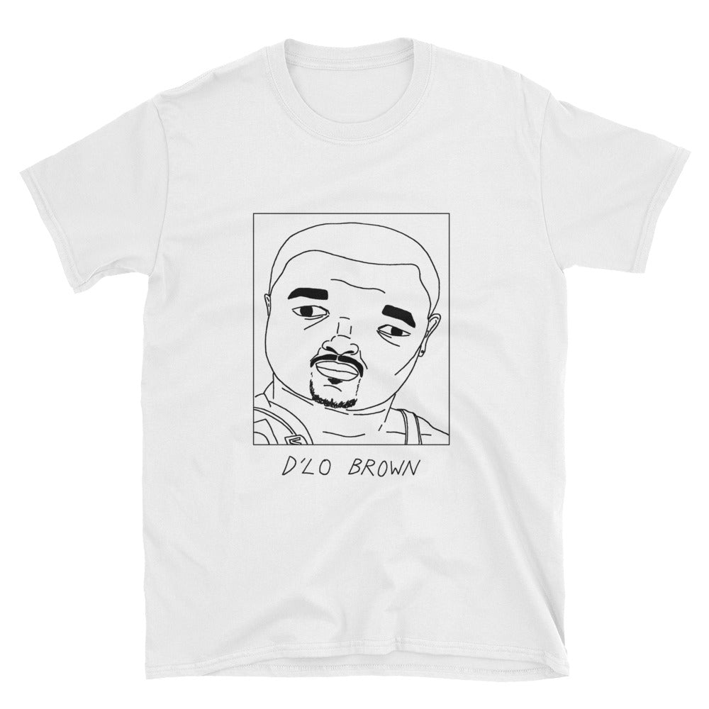 Badly Drawn D'Lo Brown - WWE - Unisex T-Shirt