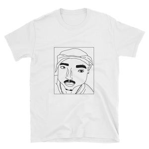 Badly Drawn 2Pac - Unisex T-Shirt