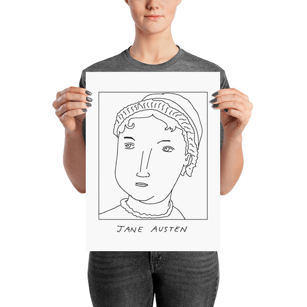 Badly Drawn Jane Austen - Poster