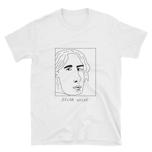 Badly Drawn Oscar Wilde - Unisex T-Shirt
