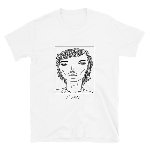 Badly Drawn Evan Peters - Unisex T-Shirt