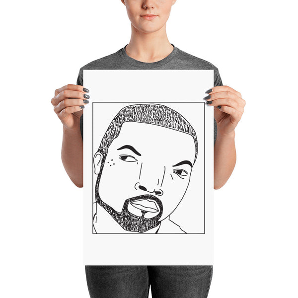 Badly Drawn Ice Cube - Poster